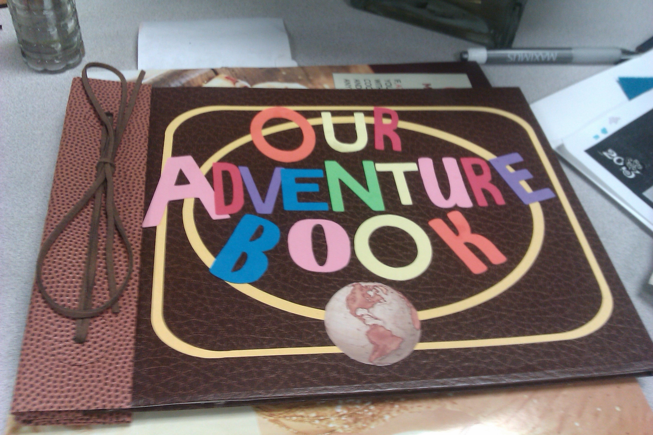 Scrapbook ideas adventure -  Front Cover