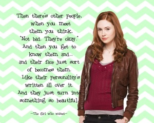 amy pond valentine doctor who the girl who waited