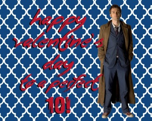 doctor who david tennant dr 10 ten valentine printable download freebie perfect 10