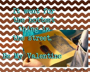 doctor who valentine hotest thing in the street fear her episode rose tyler