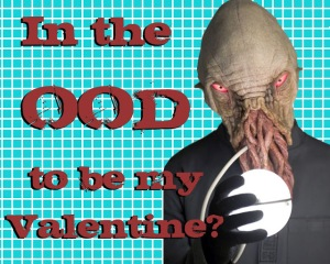 in the ood mood valentine card doctor who sci fi