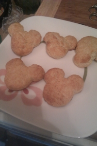 mickey biscuits