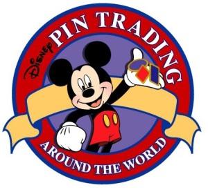 Pin trading logo