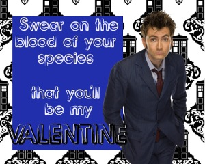 swear on the blood of your species valentine card