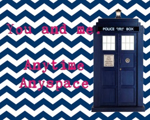 tardis doctor who valentine card download printable